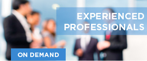Experienced Professionals